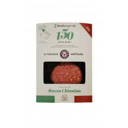 HAMBURGER CHIANINA 150 GR x2