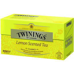 TWININGS TE LEMON SCEN 25...