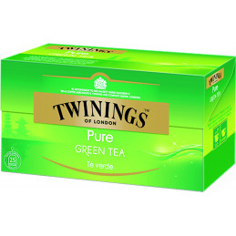 TWININGS TE PURE GREEN 25...